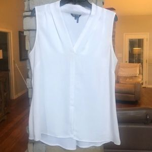 Women's Nic and Zoe white sleeveless top